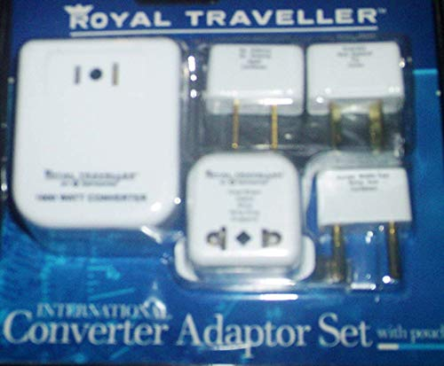Price comparison product image Royal Traveller By Samsonite Converter Adapter Kit