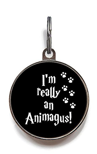 Image of Wag-A-Tude Tags Animagus Tag Pet Tag Custom Dog Tag Cat Tag Custom Pet Tag (Small)