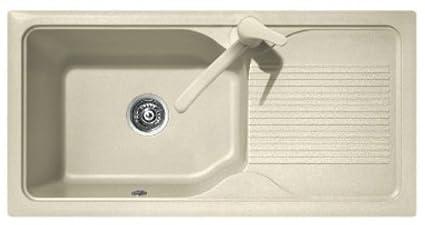 Lavello Cucina A Incasso.Plados Lavello Cucina Incasso Pietra Harmony 1 Vasca 99 Cm Avena