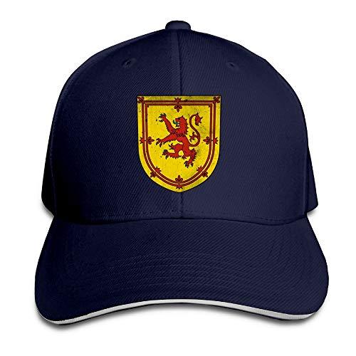 - Scotland Coat of ARMS Youth Baseball Hat Vintage Sun Visor Dad Hat