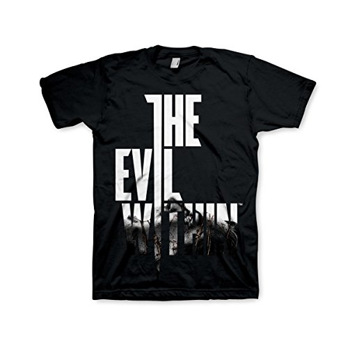 Difuzed The Evil Within T-Shirt Black Text at Front Size L Shirts