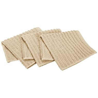 Ritz Royale Collection Dish Cloth Set, Latte, 3-Piece