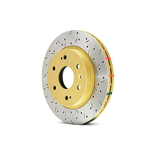 DBA DBA4650XS 4000 Series XS Premium Cross-Drilled and Slotted Front Vented Disc Brake Rotor