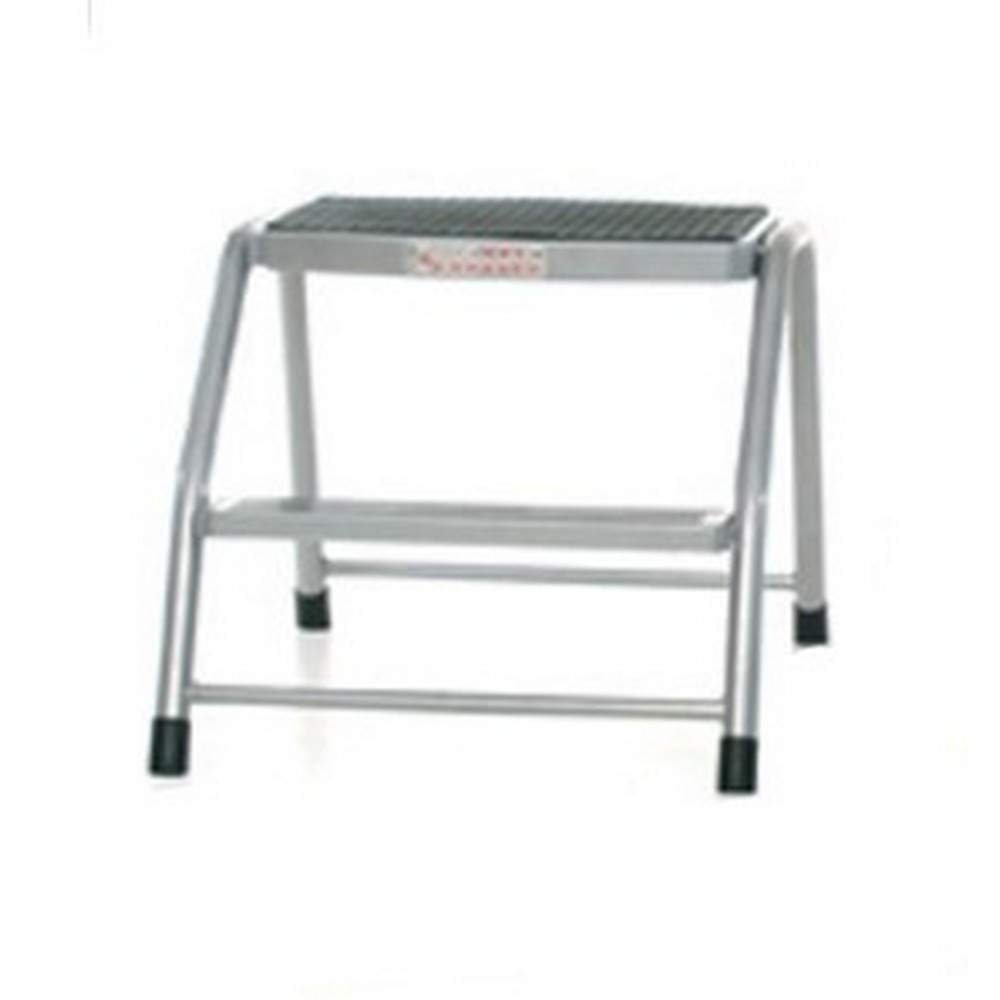 GPC Step Stool (One Step) (Silver/Black) by GPC