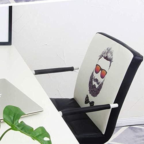MJ-Office Chair Chaise d'ordinateur pivotante en Cuir réglable en Hauteur Tabouret d'ascenseur Bureau à Domicile Bureau d'étude Meubles Chaise de Bureau