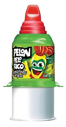 (PELON PELO RICO Tamarind Candy, 35 Grams (Pack of)