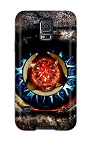Brandy K. Fountain's Shop Tpu Case Skin Protector For Galaxy S5 Impressive Eye With Nice Appearance 7325184K53249759