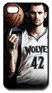 icasepersonalized Personalized Protective Case for iPhone 4/4S - Kevin Love, NBA Minnesota Timberwolves #42