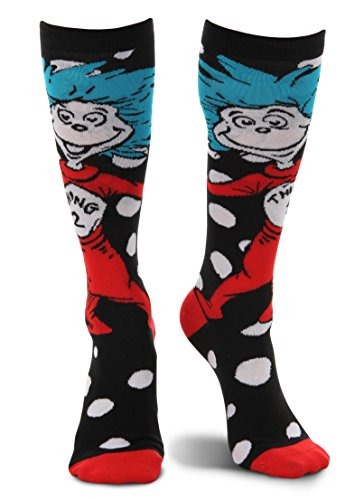 Dr. Seuss Thing 1 & 2 Costume Knee High -
