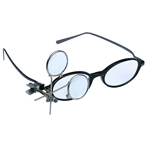 - 16.5X Jeweler's Clip-On Eye Loupe HFJ14