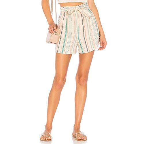 カトリック教徒拮抗横に(スプレンディッド) Splendid レディース ボトムス?パンツ ショートパンツ La Paz Stripe Shorts [並行輸入品]