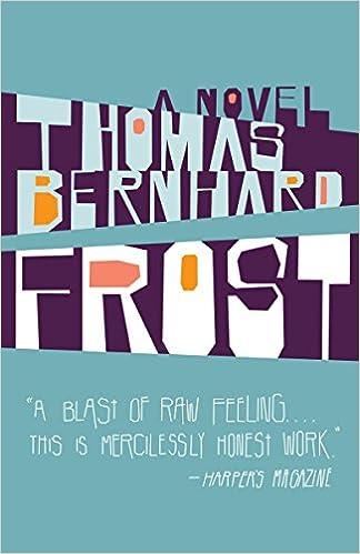 Frost: A Novel (Vintage International): Thomas Bernhard, Michael