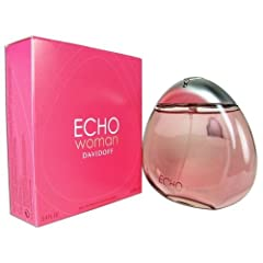 Echo Perfume For Her 3.4 oz Eau De Parfum Spray Echo Woman offers HARMONY and ONENESS for a woman - one with herself and one with the world simultaneously. A dreamy moment - sensual and private. Echo Woman is a Fruity Floral created by Fran...