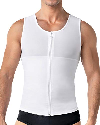 Leo Mens Abs Slimming Body Shaper with Back Support
