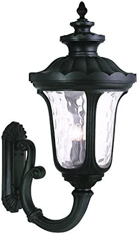 Livex Lighting 78700-04 Oxford 4 Light Outdoor Wall Lantern, Black