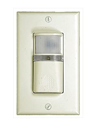 Westgate YM2106-T-W Vacancy and Occupancy Sensor Wall Switch, 3 Way, White
