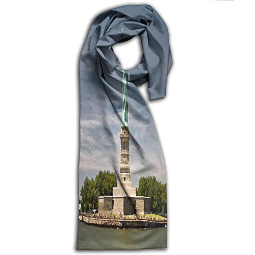 (Adult Scarf Statue Of Liberty In New York Customized Winter Scarves Halloween For)
