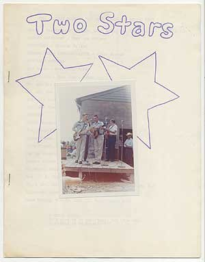 [Zine]: The Country Cousins Fan Club Journal [cover title]: Two Stars