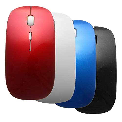 SMALL-CHIPINC - 4Color Slim Bluetooth 3.0 Wireless Mouse for Windows PC Laptop Android 3.1 + Tablet New from SMALL-CHIPINC