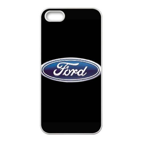 F6C29 FORD L8N8JA coque iPhone 4 4s cellule de cas de téléphone couvercle coque blanche DC6UHQ4ML