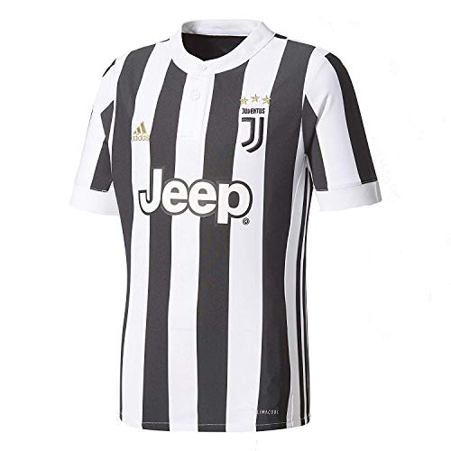 発揮する貝殻不均一adidas YOUTH Juventus Home Soccer Stadium Jersey 2017-18