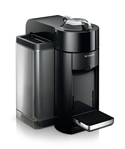 Nespresso Vertuo Evoluo Coffee and Espresso Machine by De'Longhi, Black