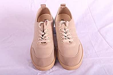 Hinz Beige Fashion Sneakers For Men