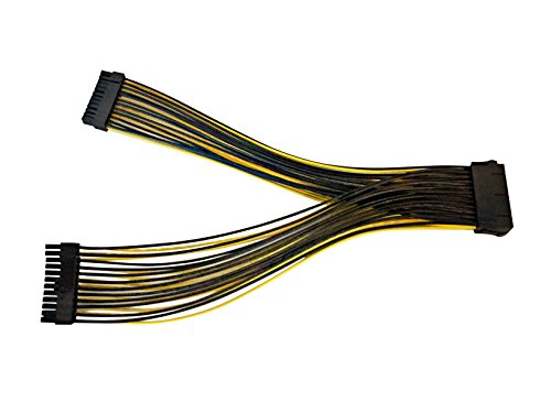 Eyeboot ATX 24-Pin Female to 24-Pin Male Y Splitter Power Cable by Eyeboot