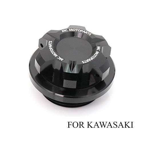 - T-Axis Black CNC Oil Filler Cap For Kawasaki ZX-10R Ninja ZX-6R 636 Ninja ZRX1200 2017 2018 2019 ZX-6RR