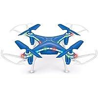 Memela(TM)X13D Mini Drone 2.4GHz 3D Rollover 4CH Led RC Quadcopter Christmas Gift for Kids (Blue)