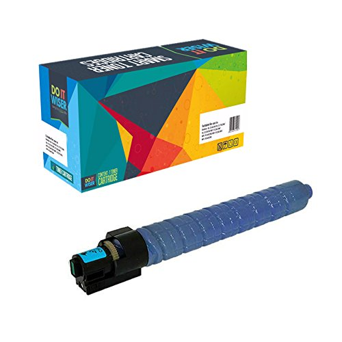 Do it Wiser Compatible Toner Cartridge 841852 for Ricoh Aficio MP C4503 MP C5503 MP C6003 Lanier MP C4503 MP C5503 MP C6003 Savin MP C4503 MP C5503 MP C6003 Cyan (Ink Blue Savin)