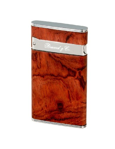 Brizard & Co. Sottile Exotic Bubinga Cigar Lighters by Brizard & Co
