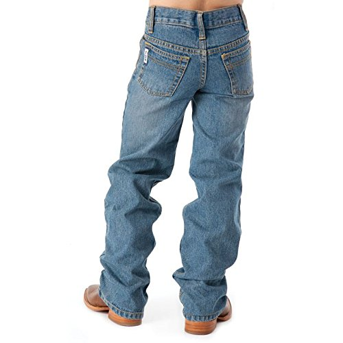 Cinch Boys' Big White Label Slim Jeans, Light Stone wash 10S