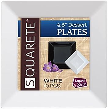 Rectangular White 11x17,5 cm Paper Plates No 4 1000 Piece