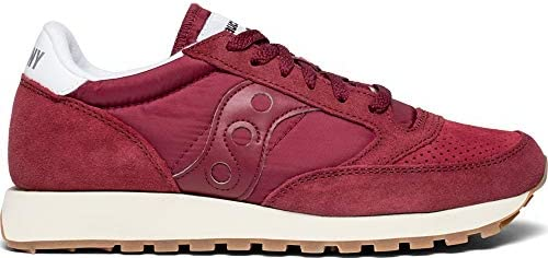 SAUCONY Jazz burgundy men's sneakers