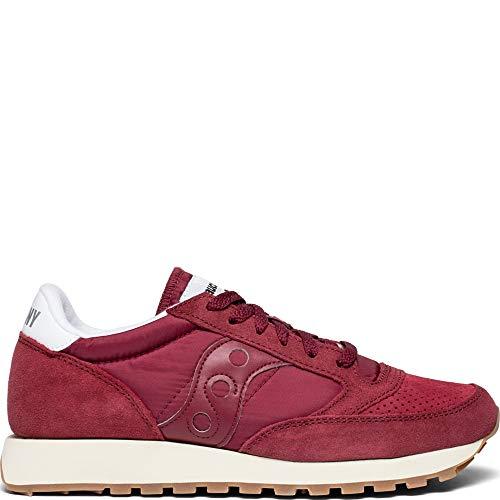 1 Uomo Saucony Original Sneakers Vintage S70419 Bordeaux Scarpe Bordeaux Jazz P0fxq0A5
