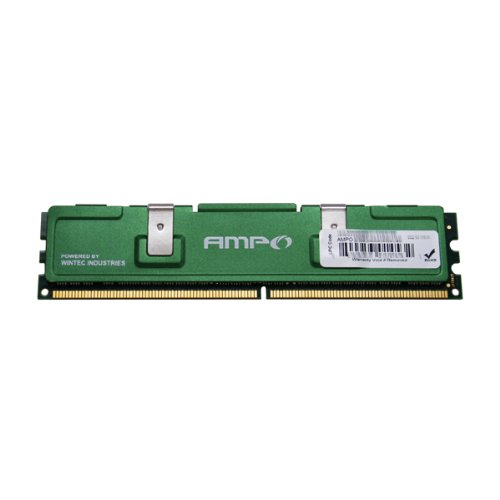 Wintec AMPO MHzCL5 1GB UDIMM Retail 1Rx8 with HS 1 Not a Kit (Single) DDR2 667 (PC2 5300) 240-Pin SDRAM ()