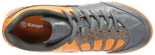 Dark Black Grey Divided B Gray Boys' Trainers Kangaroos Orange Grau OY1wqf