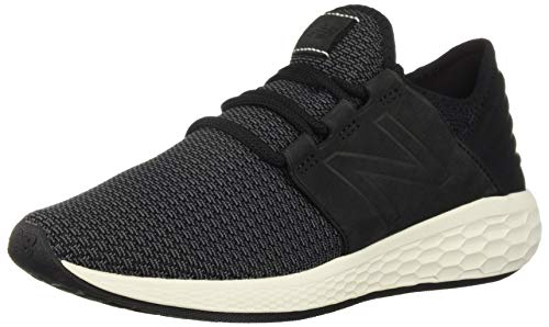 New Balance Women's Cruz V2 Fresh Foam Running Shoe Black/Magnet 5 B US by New Balance (Image #1)
