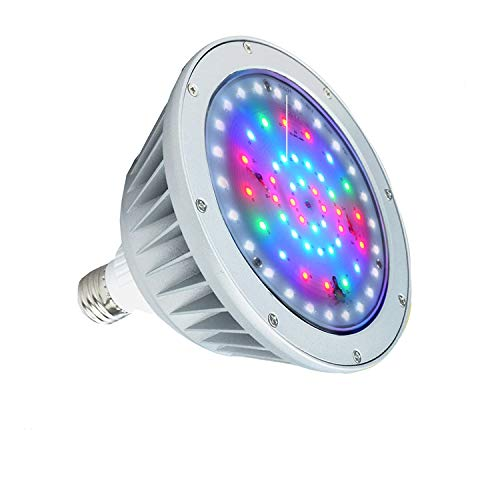 Replacement Waterproof - Britelumen LED Pool Light, 120V 40W IP65 Waterproof, Color Changing Bulb Replacement for Pentair Fixture(120V-RGB+White)
