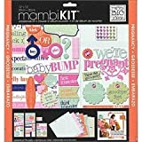 me & my BIG ideas Scrapbook Page Kit, We're Pregnant Hello Belly, 12-Inch by 12-Inch