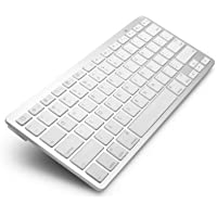 Technotech Ultrathin Wireless Bluetooth Keyboard for iPad/iMac/iPhone/Android Phones/Samsung Galaxy Tab and other Tablets