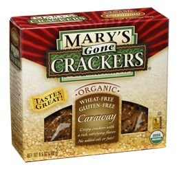 Marys Gone Crackers Cracker Gf Caraway Org - 3 pack