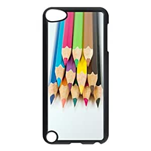 ALICASE Design Phone Case Colored Pencil For Ipod Touch 5 [Pattern-1]
