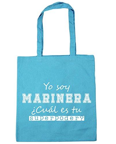 Celeste 10 x Bolsa tu Playa Marinera capacidad ¿Cuál Con gimnasio Compra Yo Azul Soy para de 42cm litros Asas Superpoder Bolso HippoWarehouse 38cm es wqHgnT