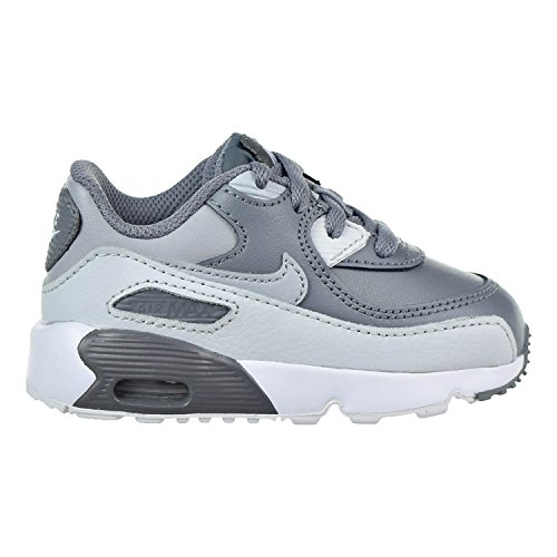 Nike Air Max 90 LTR Cool Grey/Wolf Grey (Toddler) (5 M US Toddler)