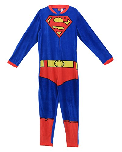 Briefly Stated Men's Superman One Piece Pajama Suit-Blue-S for $<!--$39.99-->