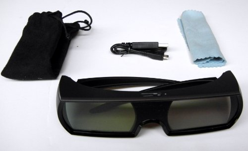3D glasses (THREE) for EPSON Powerlite 3010, 3010e, 5010, 5010e, 6010, EH-TW9000 9000E, 9000W, 9000E, ELPIE01, ELPGS01, SONY VPLVW90ES, VPLHW30AES, VPLHW30ES, VPLHW40ES, VPLVW60ES, VPLVW90ES , VPLVW95ES, TMR-PJ1 and ALL SONY 3DTV sets. by 3DTV Corp