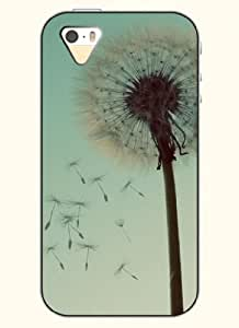 OOFIT Phone Case Design with Dandelion for Apple iPhone 5 5s 5g