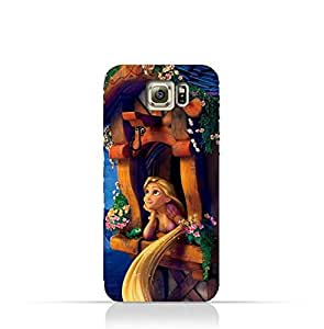 Samsung Galaxy S7 Edge TPU Silicone Protective Case with Rapunzel Design